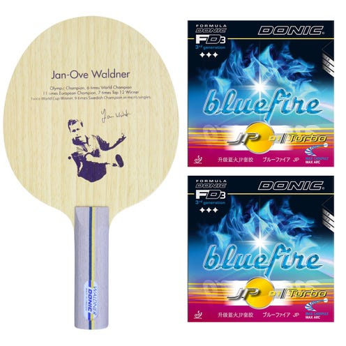 Donic Waldner Offensive + Bluefire JP 01 Turbo