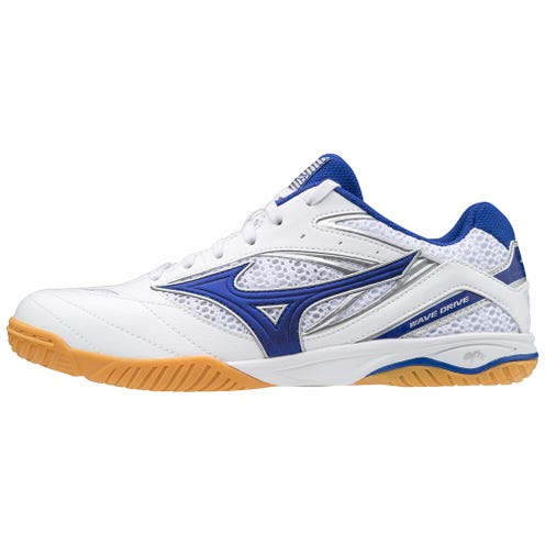 Mizuno Wave Drive 8 White/Blue