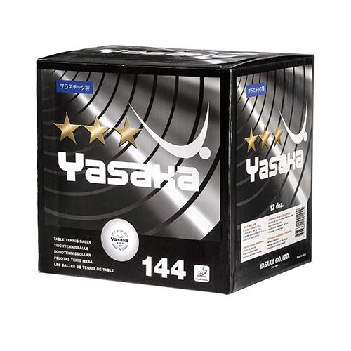 Yasaka 3-star 40+ 144-pack